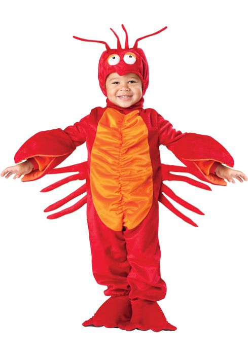 Lil' Lobster Toddler Costume