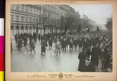 Demonstration for Election Rights, Vienna 1905
