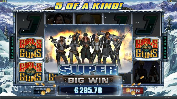 Girls with Guns Frozen Dawn Online Slot Game