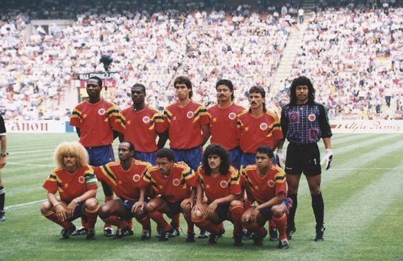 Sel Colombia en Italia 90