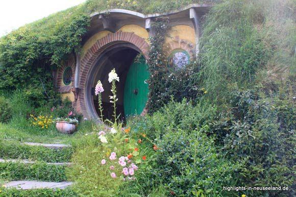 die gr ne t r von bilbo beutlin der hobbit herr der. Black Bedroom Furniture Sets. Home Design Ideas