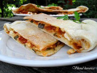 Vikend kuvarica: Pita od ajvara i sira
