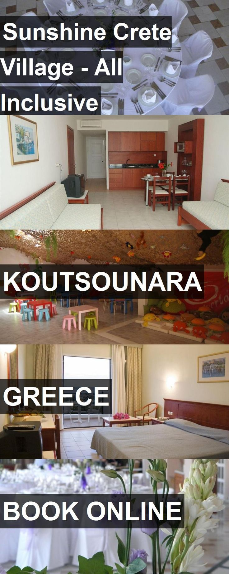 Hotel Sunshine Crete Village - All Inclusive in Koutsounara, Greece. For more information, photos, reviews and best prices please follow the link. #Greece #Koutsounara #SunshineCreteVillage-AllInclusive #hotel #travel #vacation
