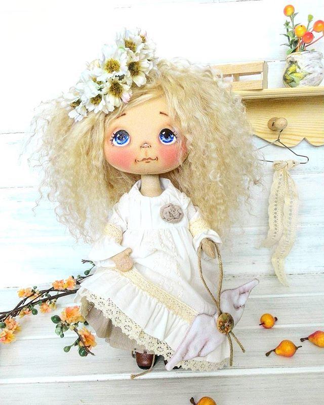 Ангел, любимка моя, пока моя, любуюсьььь... забронирована #куклыеленывылегжаниной #текстильнаякукла #интерьернаякукла #кукларучнойработы #подарок #ручнаяработа #купить #ярмаркамастеров #кукла #москва #питер #dollstagram #dolls #textiledoll #ангел