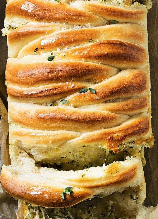 How to make Feta Pull-Apart Bread