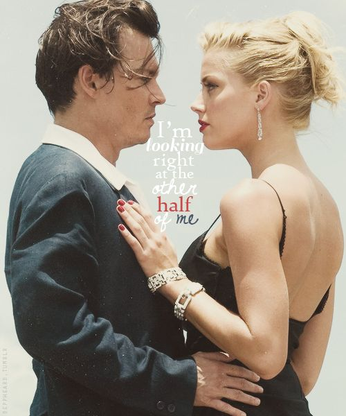 Johnny Depp & Amber Heard in 'The Rum Diary'