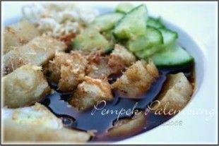 Pempek or Empek-empek...Special Food from Palembang, South Sumatra