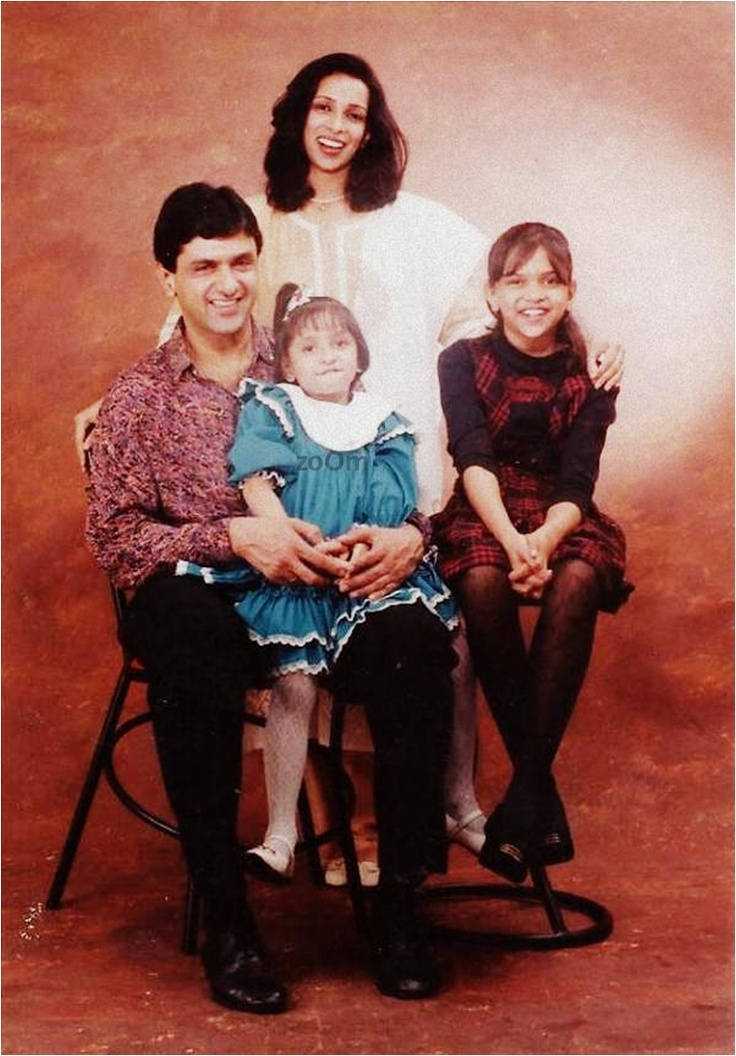 Deepika Padukone with family.
