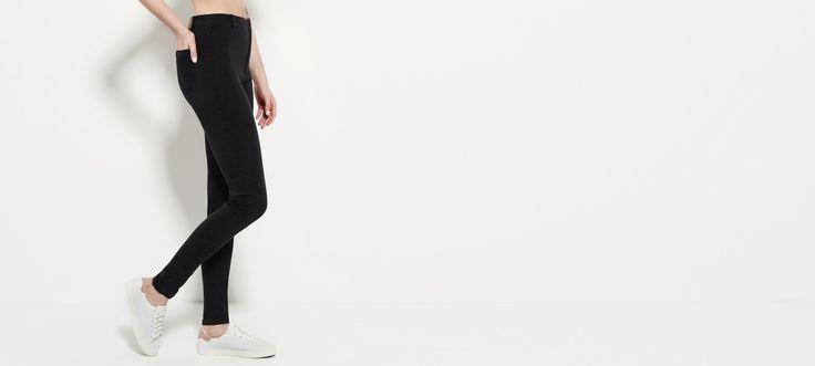 Spodnie LYNETTE - spodnie jeans - Spodnie - Kolekcja damska – Diverse