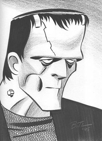 Frankenstein - by Bruce Timm