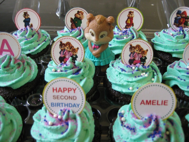 Chipettes Cupcakes