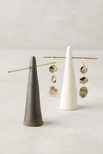 Glazed Ceramic Ring Cone