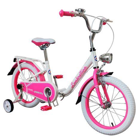 Vehicule pentru copii :: Biciclete si accesorii :: Biciclete :: Bicicleta copii pliabila Lambrettina pink 14 ATK Bikes