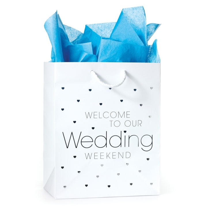 Festive Wedding Welcome Bags