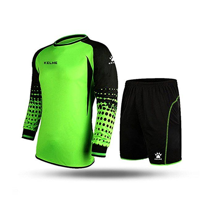 Kelme Football Goalkeeper Long Sleeve Suit Soccer Jersey Set Clothing Football Jersey New Jersey Fo Fall Football Outfit Football Outfits Football Game Outfit