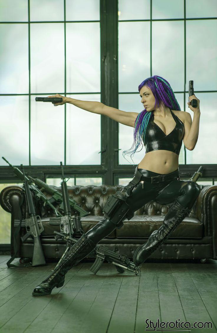 Latex matrix inspired set on Stylerotica by Octokuro Matrix cosplay