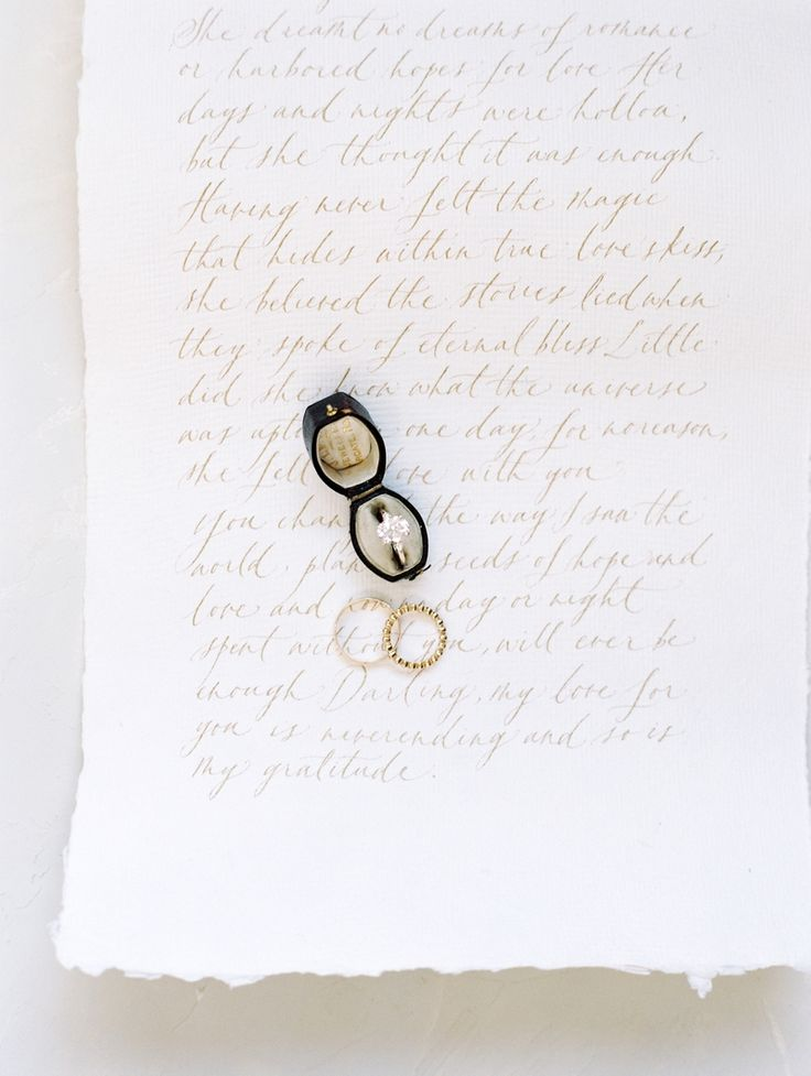 Ring: Susie Saltzman - http://www.stylemepretty.com/portfolio/susie-saltzman-fine-jewelry Photography: Esmeralda Franco - esmeraldafranco.com/   Read More on SMP: http://www.stylemepretty.com/california-weddings/2017/04/06/get-inspired-to-throw-a-wedding-built-for-two/
