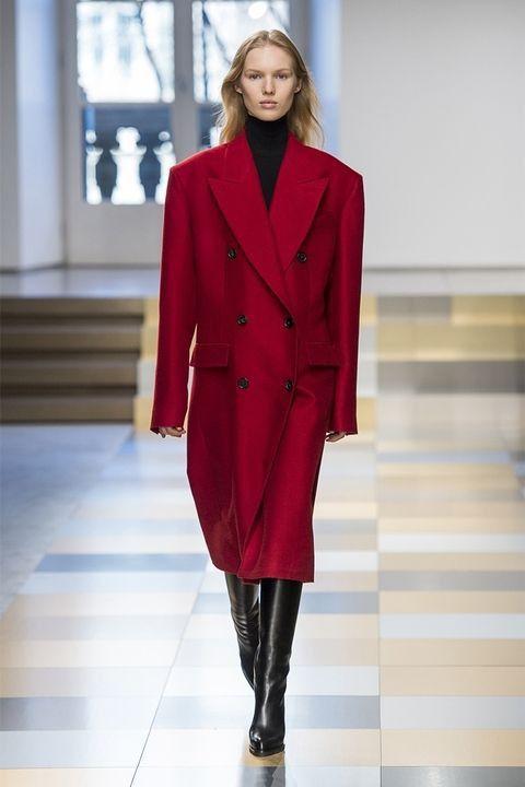 Модные пальто осень 2017 Jil Sander