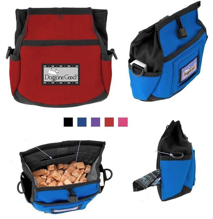 DOGGONE GOOD RAPID REWARDS Dog Bait Bag Obedience Training Agility Treat Pouch #DoggoneGood