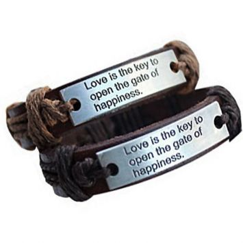 Парные браслеты - Признание в любви