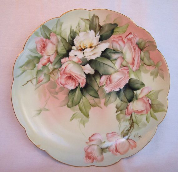 Antique Plate.
