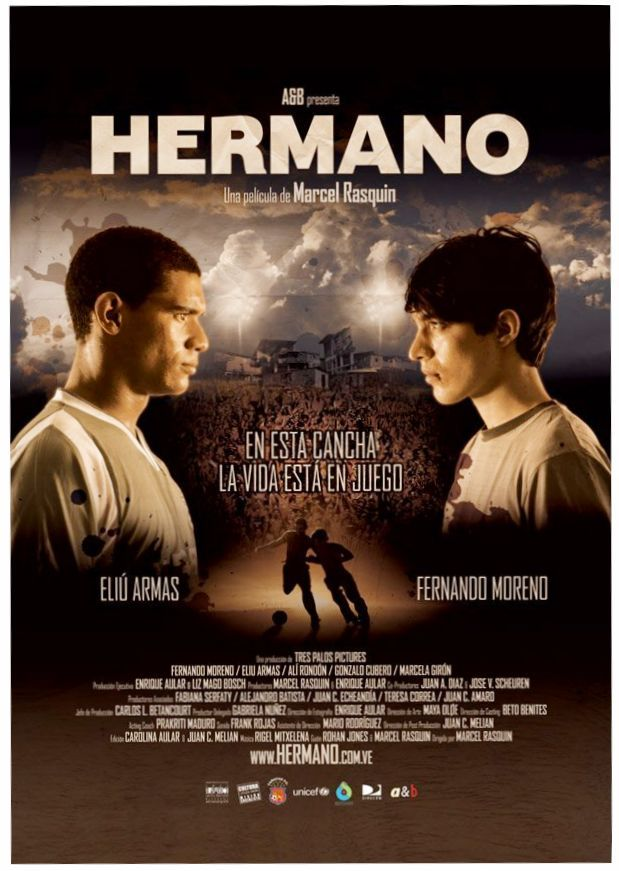 Hermano (2010) 720p DVDRip x264 ESubs AC3 Dual Audio [Hindi DD2.0 + Spanish DD2.0]