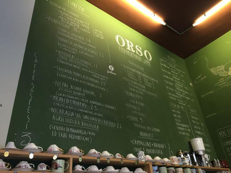 Orso, laboratorio del caffè, Torino