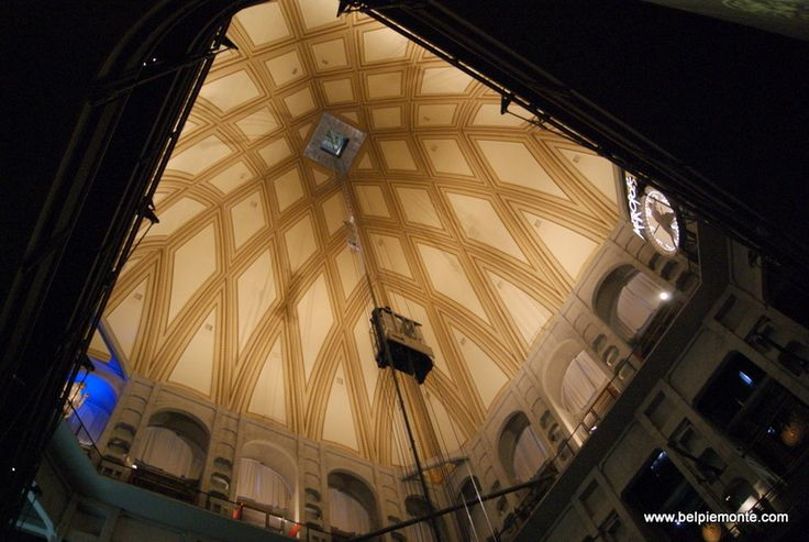 La Mole Antonelliana  - cupola, seen from National Museum of Cinema, Turin, Italy