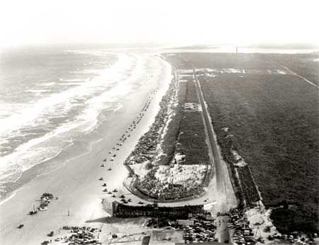 daytona beach race and land speed record cars.