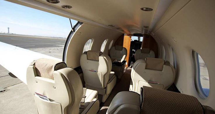 Fly with us on a luxurious private plane for the same cost as a commercial flight.