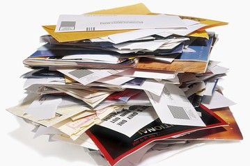 Read How Waste Hurts the Economy: Paper Clutter, Simple Step, Junk Mail, Organizations Ideas, Organizations Home, 12 Simple, Stay Organizations, Cut Paper, Organizations Paper