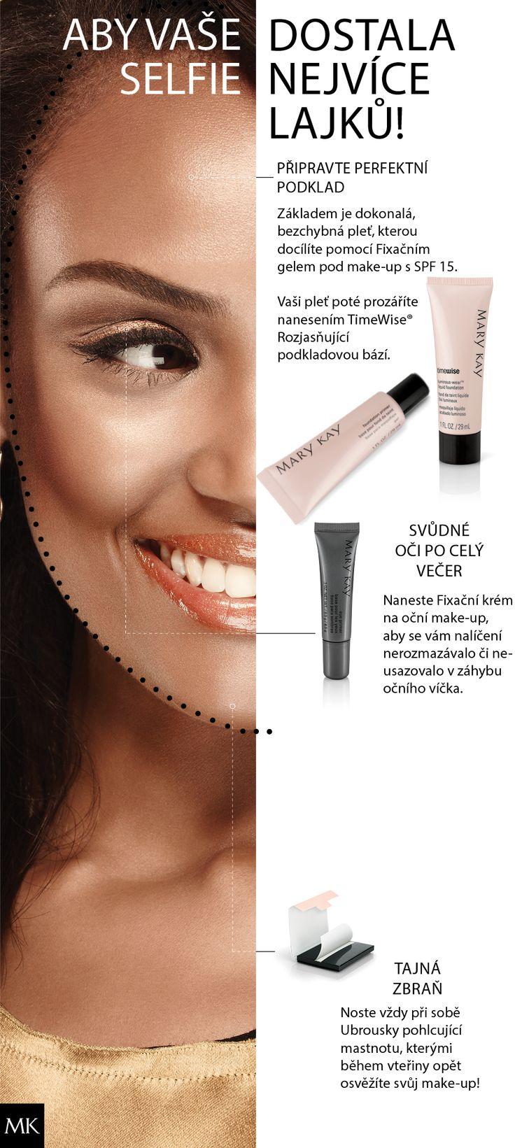 Podklad je pro nejlepší fotky tím nejdůležitějším! #MaryKay #BeautyTips #BestFaceForward