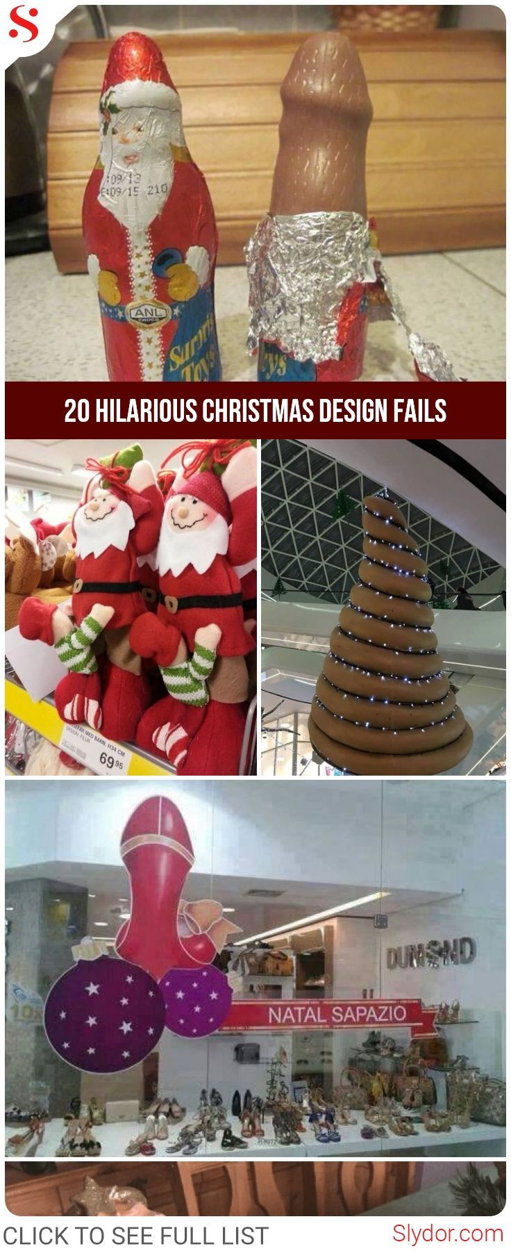 20 Hilarious Christmas Design Fails Of All The Times Are Not Easy To ...