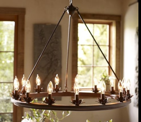 Stanton Leaf Cup Chandelier By Pottery Barn Price 399 00 Visit Uploaded