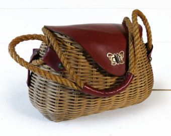 wicker bag – Etsy RU