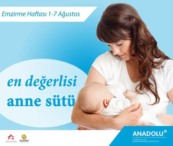 Anne sütü bebeğinize verebileceğiniz en degerli armağandır. #EmzirmeHaftası #AnadoluSağlık #anne #bebek #emzirmehaftası #annesütü #annelik #bebeğimveben