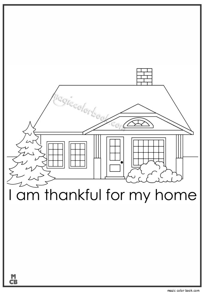 18 Best Home Coloring Pages Free Images On Pinterest