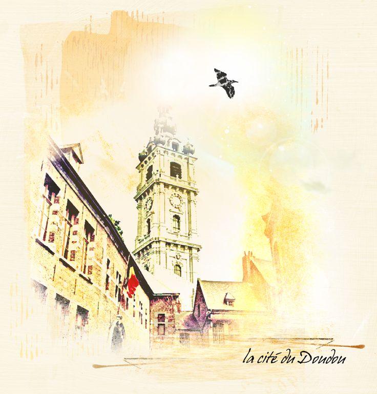 Photo artistique, la cité du Doudou, Le digiscrap de Malou