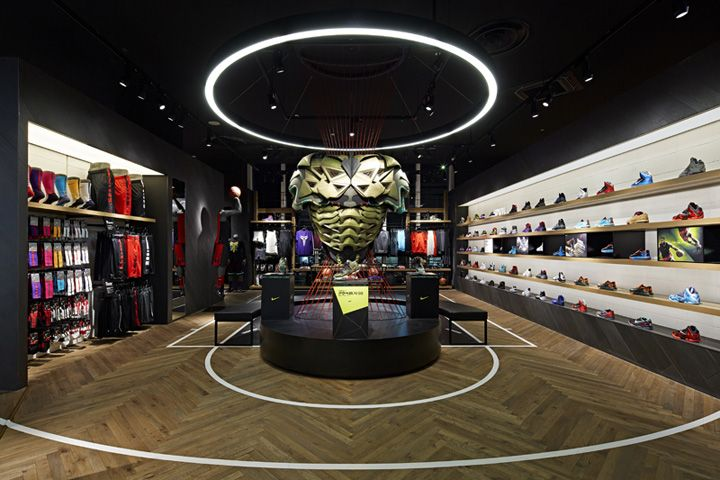 Nike Basketball shop by Specialnormal, Chiba - Japan. Visit City Lighting Products! https://www.facebook.com/CityLightingProducts