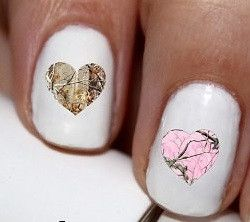 25 trending mossy oak nails ideas on pinterest browning camo 50pc pink and brown oak hearts real mossy oak real tree nail decals nail art nail prinsesfo Image collections