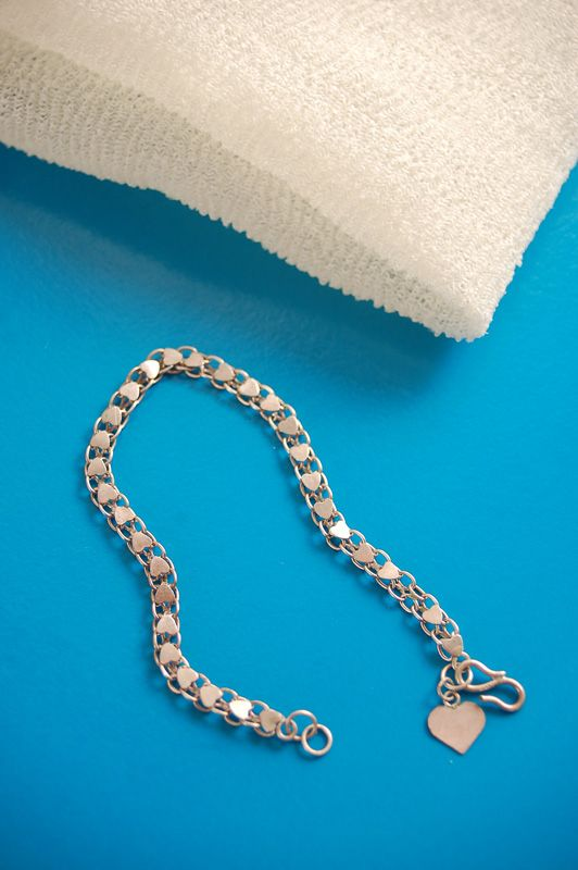 how to clean tarnished sterling silver with gemstones