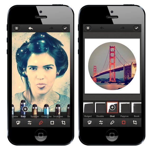 Screenshots of Defocus, a Portrait Mode bokeh app.