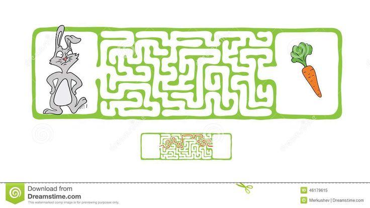 vector-maze-labyrinth-rabbit-carrot-game-children-46179615.jpg (1300×732)