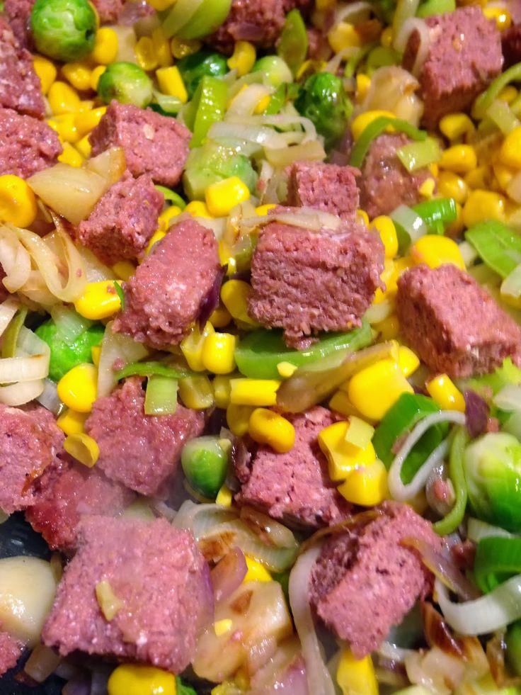 Corned Beef Hash - with added veg
