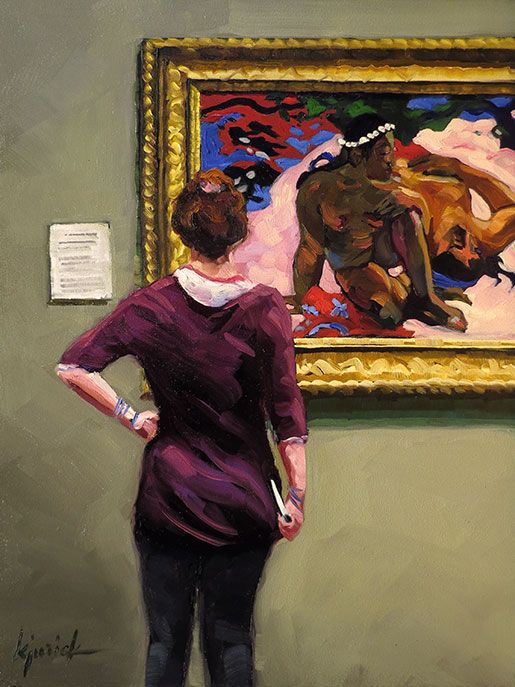 'Gauguin' part of series ArtistZ