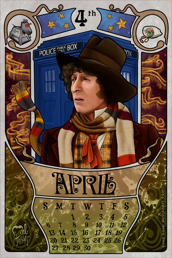 Calendar Art Sci : Best the fourth doctor my images on pinterest