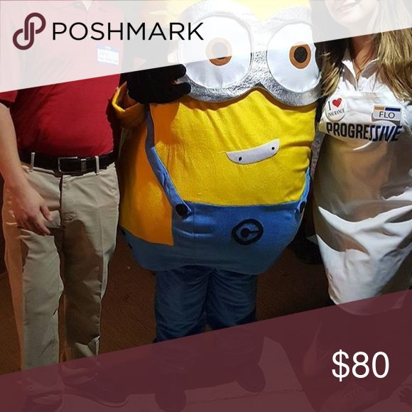 Minion Mascot costume Size Small minion Mascot costume used Twice it's in perfect condition great for Halloween or a party.. shipping might be extra Other