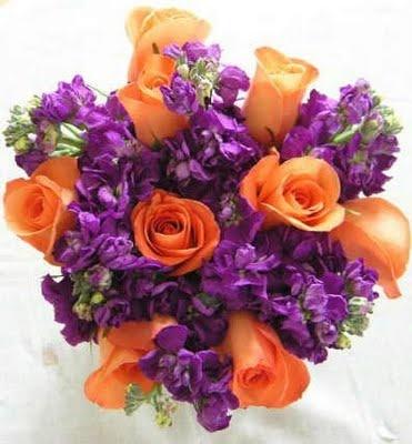 Best Wedding Flowers: Purple Fall Wedding Flowers