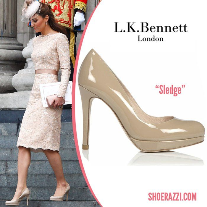 Kate Middleton shoes | ... to Fashion: Kate Middleton's LK Bennett court shoes – Dupe alert