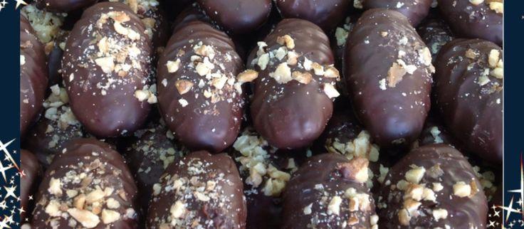 Χριστουγεννιάτικα γλυκά: Μελονακάρονα με σοκολάτα